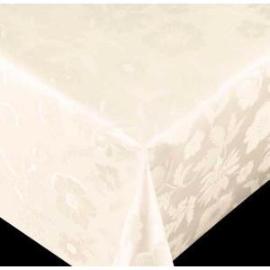 テーブルクロス ダイヤモンドシリーズ フラワー オフホワイト 67050 幅140cm 10cm単位切売 商品番号: 6900330送料別 通常配送 同梱不可 / クロス 切り売り 白系|handsman