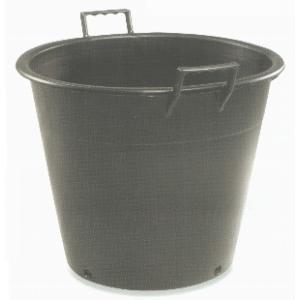 多用途 農業用 プラスチック 樽 取っ手つき 高さ:約40cm 04822 (7044658)  送料別 通常配送 handsman