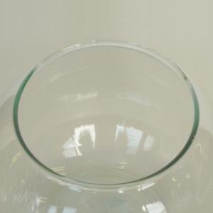テラリウム 鉢 水槽 ガラス 容器 / エコガラス 金魚鉢 テラリウムポット L 7492367 送料別 通常配送|handsman|02