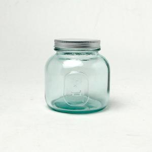 エコガラスボトル 1.0L STORAGE 5798 (リサイクルガラス、スペイン製、直輸入) (7827695) 【送料別】【通常配送】|handsman