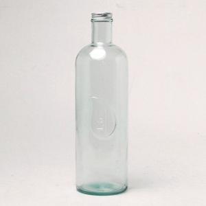 ガラス瓶 ガラスボトル ふた付き 蓋付 / エコガラスボトル 1.6L STORAGE 5782 スペイン製 直輸入 7827717 送料別 通常配送 / リサイクルガラス ガラス 瓶|handsman