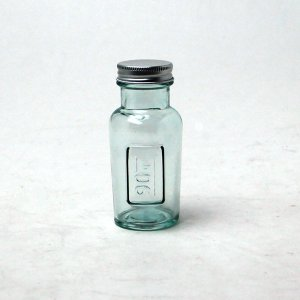エコガラスボトル 90cc STORAGE 5784 (リサイクルガラス、スペイン製、直輸入) (7827750) 【送料別】【通常配送】|handsman
