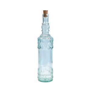 ガラス瓶 ガラスボトル / エコガラスボトル コルク栓 700cc PLAYFULL 5043 サンミゲル  7828039 送料別 通常配送 / リサイクルガラス コルク瓶 ふた付き 蓋付|handsman