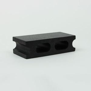 スチロールブロック レンガ / 発泡スチロール プチブロック ブラック サイズ:200×100×50mm 8157847 送料別 通常配送|handsman