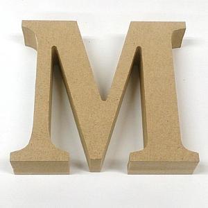 MDF 切り文字 英字 アルファベット M EE1-5062 (8195927) 【送料別】【通常配送】|handsman