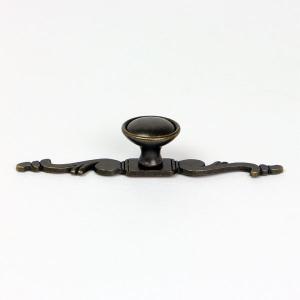金属製ツマミ 1546-137ZN10 幅:約135mm 家具 取っ手 (8392862) 【送料別】【通常配送】|handsman