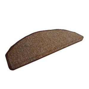 階段マット 階段用ステップマット W65 ブラウン 9729−60 (8648611) 【送料別】【通常配送】|handsman