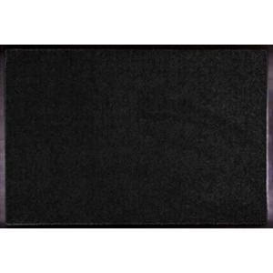 玄関マット W90 ブラック 618−44 室内マット 泥落としマット (mono) (8648794)  送料別 通常配送 handsman