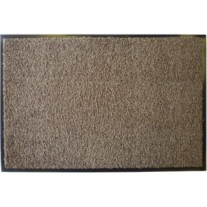 玄関マット W90 ブラウン 618−42 室内マット 泥落としマット (8648824)  送料別 通常配送 handsman