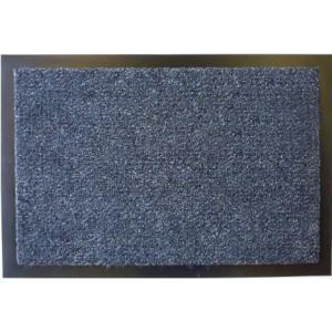 玄関マット W60 ブルー 617−20 室内マット 泥落としマット (8648840) 【送料別】【通常配送】|handsman