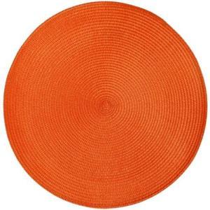 プレースマット テーブル / プレイスマット ラウンド オレンジ テーブルマット ランチョンマット ランチマット 8691630 送料別 通常配送|handsman