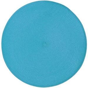 プレイスマット ラウンド ブルー  テーブルマット ランチョンマット ランチマット (8691673) 【送料別】【通常配送】|handsman