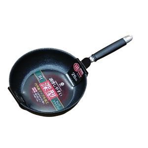 フライパン ベストコ 調理しやすい 深型フライパン 26cm IH対応 (8804559) 取寄せ商品 送料別 通常配送|handsman