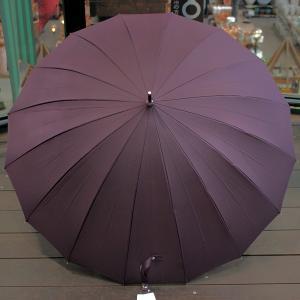 16本骨 ジャンプ式傘 60cm 紫 グラスファイバー強化骨 (8970025) 取寄せ商品 送料別 通常配送|handsman