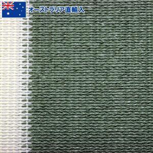 寒冷紗(かんれいしゃ) グリーンストライプ 幅:200cm 遮光率:90% 1m単位切売 (9048367)  送料別 通常配送|handsman