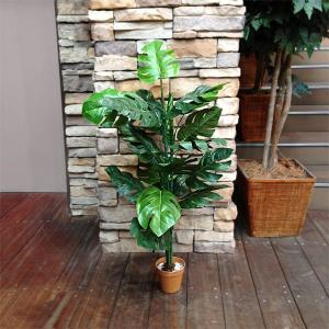 人工観葉植物 モンステラ 15998 高さ約95cm (9078916) 【送料別】【通常配送】【140k5】|handsman