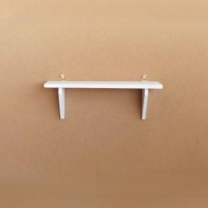 木製ハンギングシェルフ W35CM ホワイト (9234853) 取寄せ商品 送料別 通常配送|handsman
