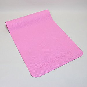 フィットネス ヨガマット ピンク 約61cm×約183cm×厚さ約0.5cm (pink) (9627707)  送料別 通常配送|handsman