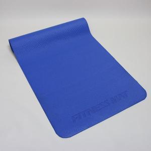 フィットネス ヨガマット ブルー 約61cm×約183cm×厚さ約0.5cm (9627715)  送料別 通常配送|handsman