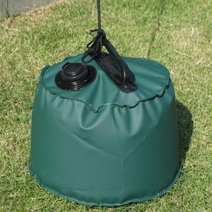 屋外用マルチウエイト6L グリーン 直径:約25cm×高さ:約20cm (9628754) 【送料別】【通常配送】|handsman