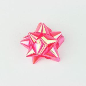 リボンフラワー パールピンク Mサイズ 直径:50mm 9個入 (9710655) 【送料別】【通常配送】|handsman