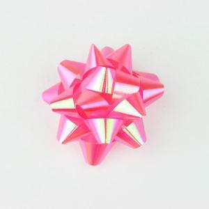 リボンフラワー パールピンク Lサイズ 直径:65mm 6個入 (9710663) 【送料別】【通常配送】|handsman