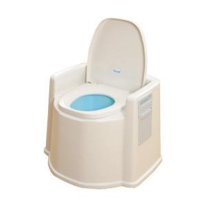 KOWA(幸和製作所) TacaoF(テイコブ) ポータブルトイレ(肘掛け付) PT02 (987514) 【送料別】【通常配送】|handsman