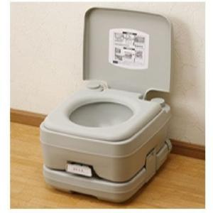 ポータブル水洗トイレ YZPT-10(G) (987727) 【送料別】【通常配送】|handsman