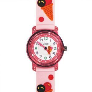 【廃番・取扱中止品】子供用腕時計 キッズウォッチ アイスクリーム ピンク サンフレーム TCL53 (9961917)取寄せ商品 送料別 通常配送|handsman
