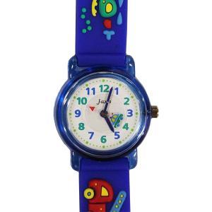 【廃番・取扱中止品】子供用腕時計 キッズウォッチ 乗り物 ブルー サンフレーム TCL55 (9961933)取寄せ商品 送料別 通常配送|handsman