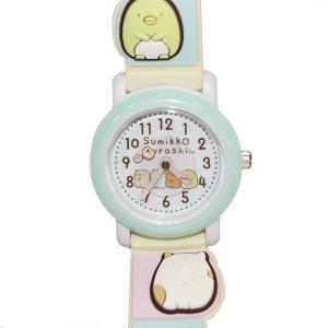 子供用腕時計 キッズウォッチ すみっコぐらし ブルー サンフレーム SX-V07-SG (9961984)取寄せ商品 送料別 通常配送|handsman