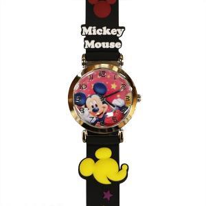 子供用腕時計 キッズウォッチ ミッキー ブラック WD-S02-MKB (9961992) 取寄せ商品 送料別 通常配送|handsman