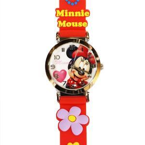 子供用腕時計 キッズウォッチ ミニー レッド WD-S02-MNR (9962000) 取寄せ商品 送料別 通常配送|handsman