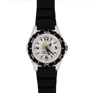 子供用腕時計 スヌーピー 盤面ホワイト ベルトブラック CITIZEN AA96-0016 (9962107) 取寄せ商品 送料別 通常配送|handsman