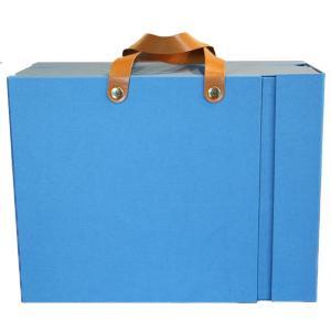 ライフスタイルツール 収納カバン A4サイズ ブルー LST-SK02BL (9964673) 取寄せ商品 送料別 通常配送 handsman