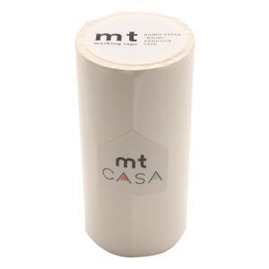 mt CASA マスキングテープ 100mm幅×10m巻き マットホワイト MTCA1086|handyhouse