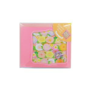 フラワーポップアップ色紙 ピンク 62-171|handyhouse