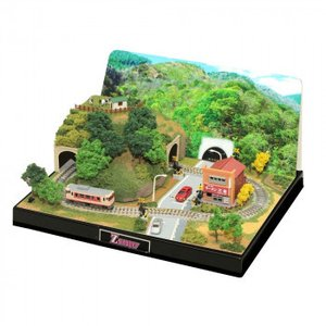 Zショーティーミニレイアウトセット(トンネルタイプ)専用情景セット SS002-2|handyhouse