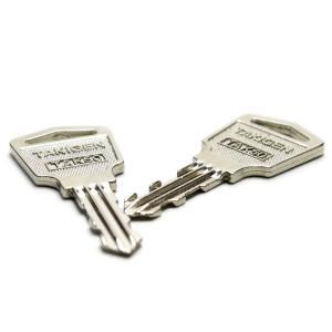 タキゲン (TAKIGEN) TAK50 スペアキー 合鍵 純正品 2本セット