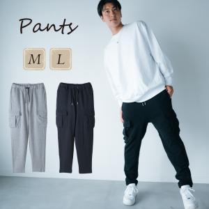カーゴパンツ メンズ パンツ ボトム 秋 春 アウトドア 機能的 綿100% コットン|hangaa