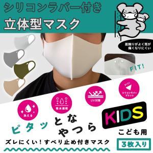 マスク 立体 洗える 秋冬 ズレ 防止 滑り止め付き シリコン 子供用 hangaa