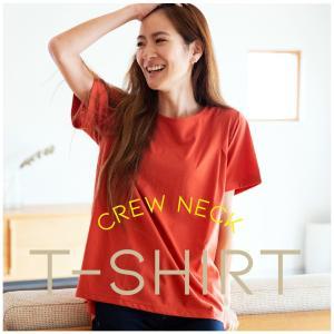■商品説明 天竺タック入りクルーネックTシャツ。 1枚着からインナー使いまで活躍します。 天竺素材な...