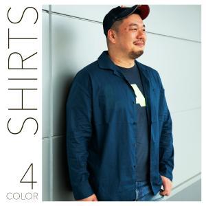 シャツ メンズ 大きいサイズ 長袖 ワイシャツ hangaa