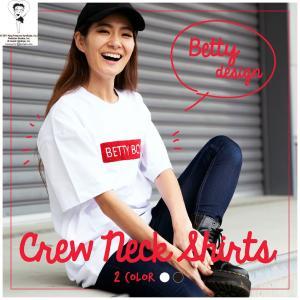 Tシャツ レディース 半袖 クルーネック Betty Boop(TM) ベティー ブープ(TM) hangaa