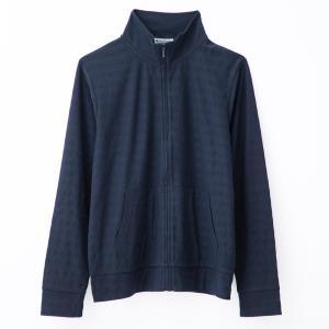 ジャケット レディース 大きいサイズ スタンドネック UV対策 吸水速乾 シャドーボーダー 長袖 3L 4L|hangaa