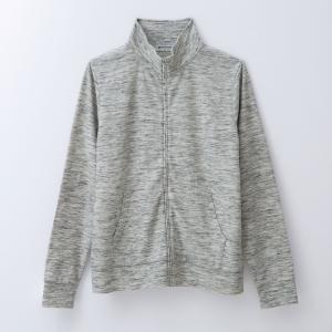 ジャケット レディース スタンドネック UV対策 吸水速乾 長袖 3L 4L|hangaa