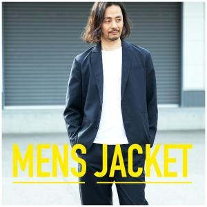 ジャケット テーラードジャケット エステルトロ ボタン ポケット シンプル カジュアル メンズ M L LL|hangaa