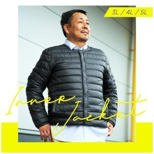 インナーダウン ダウン ジャケット  メンズ 大きいサイズ 暖かい 秋 冬|hangaa