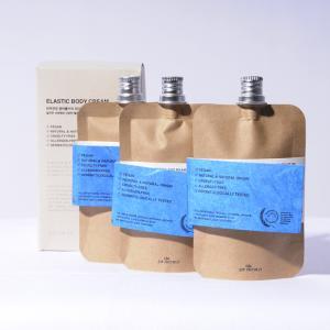 ボディクリーム 保湿 ミニサイズ いい匂い TOUN28 エラスティックボディクリームW 60ml ×3 ヴィーガン hangaa