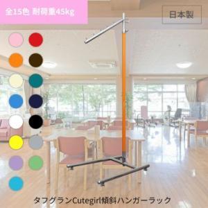ポールハンガー カラフル全10色 幅40cm 省スペース 日本製 グラつかない 斜め掛け 組立不要 伸縮可能 キャスターなし 洋服衣類 収納ラック コートハンガー|hangerrack-pro